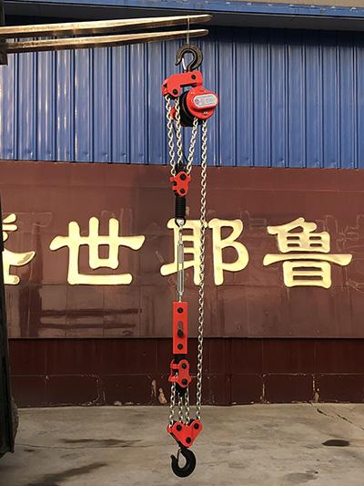 爬架葫芦在整个爬架技术中起着重要的作用